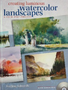 Creating Luminous Watercolor Landscapes: A Four-Step Process