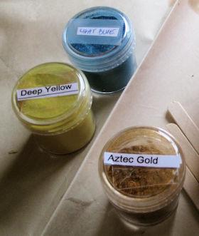 Mica Colours I used